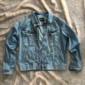 Express men's denim jacket